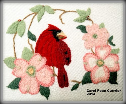 Moore Than Needlepoint Cardinal Cover