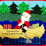 Moore Than Needlepoint Santa