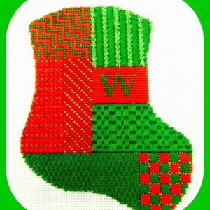 Monogramed Stocking