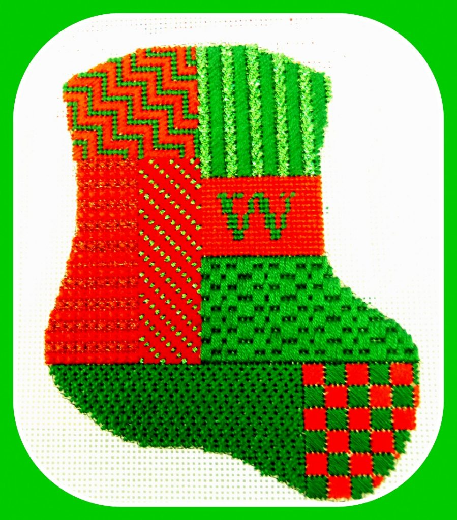 Monogramed Stocking