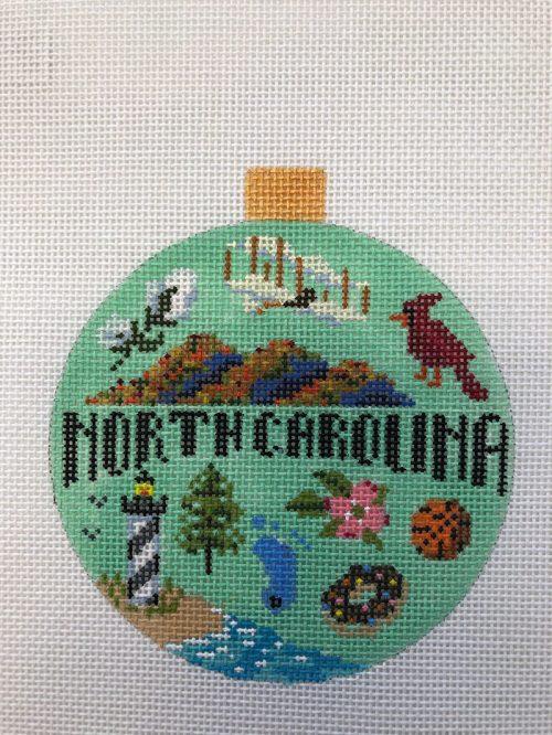 Kirk and Bradley - North Carolina Ornament