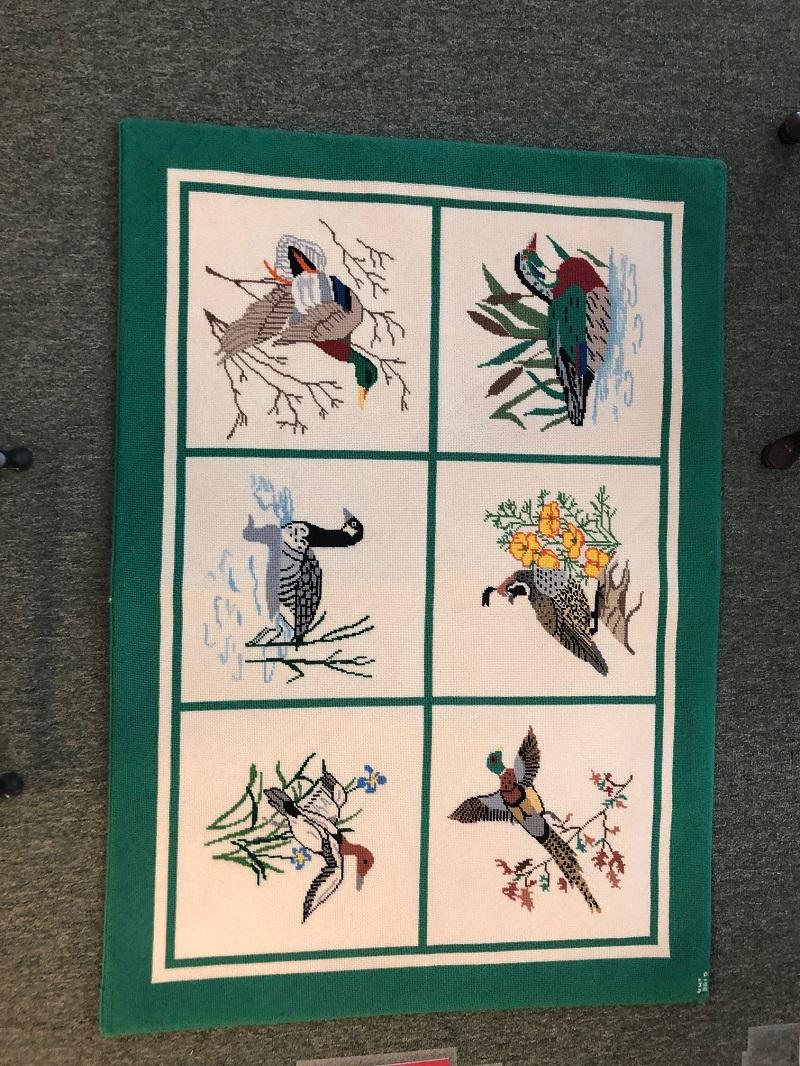 Wild Birds and Dugs Rug