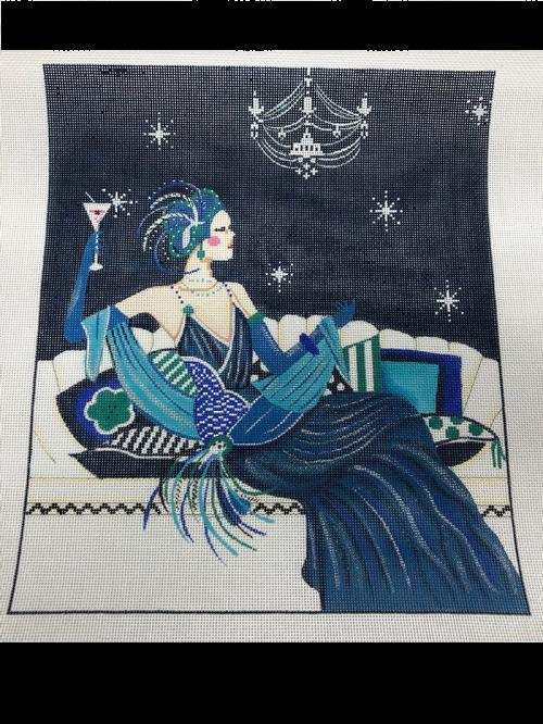 Lady on Sofa